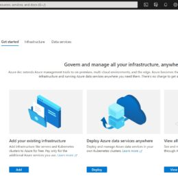 Azure Arc Center - Azure Portal