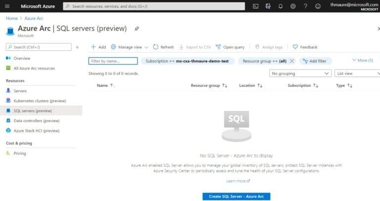 Azure Arc SQL Server