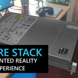 Azure Stack Hardware Augmented Reality AR Experience