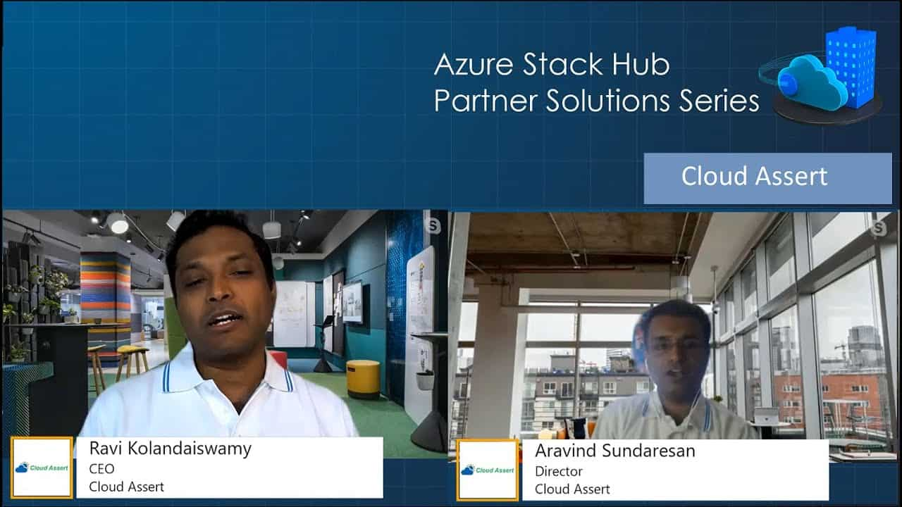 Azure Stack Hub Partner Solutions Series – Cloud Assert