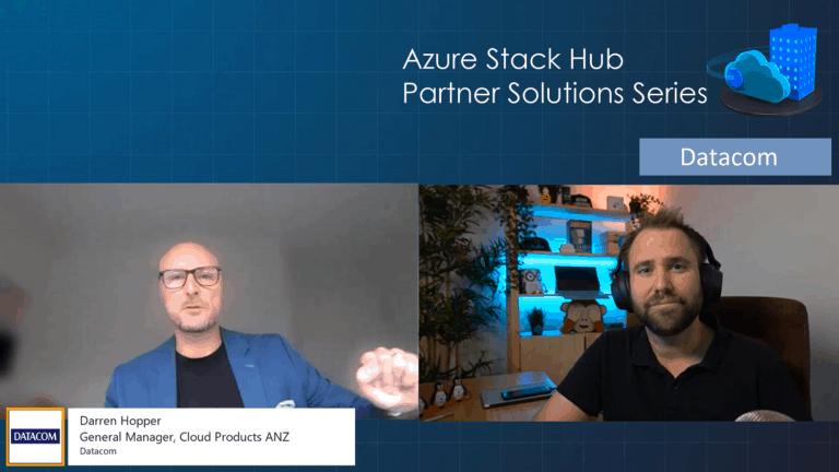 Azure Stack Hub Partner Solutions Series - Datacom