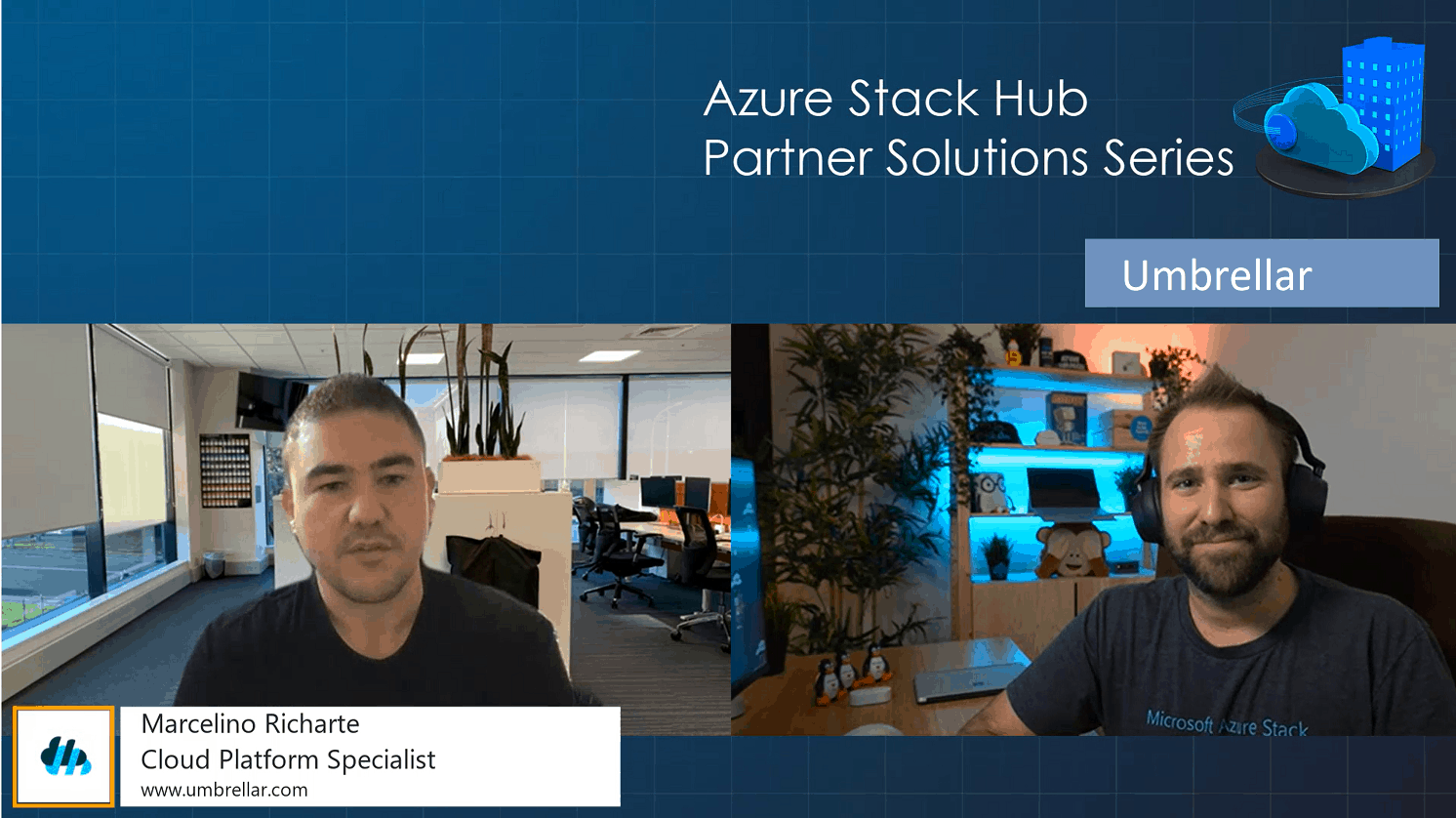 Azure Stack Hub Partner Solutions Series - Umbrellar