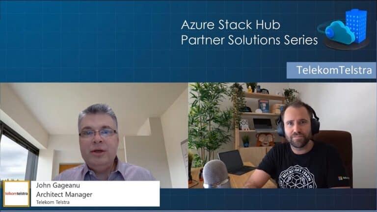 Azure Stack Hub Partner Solutions Series - telkomtelstra