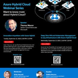 Azure Hybrid Cloud Webinar Series
