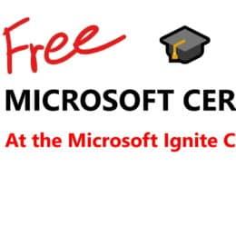 Microsoft Ignite Cloud Skills Challenge 2020