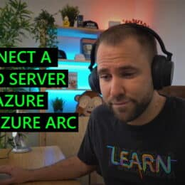 Connect a hybrid server to Azure using Azure Arc