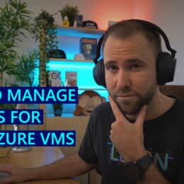 Manage updates and patches for your Azure VMs