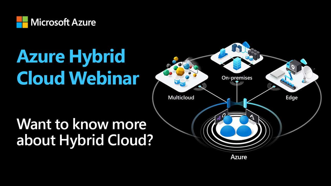 Microsoft Azure Hybrid Cloud Virtual Event