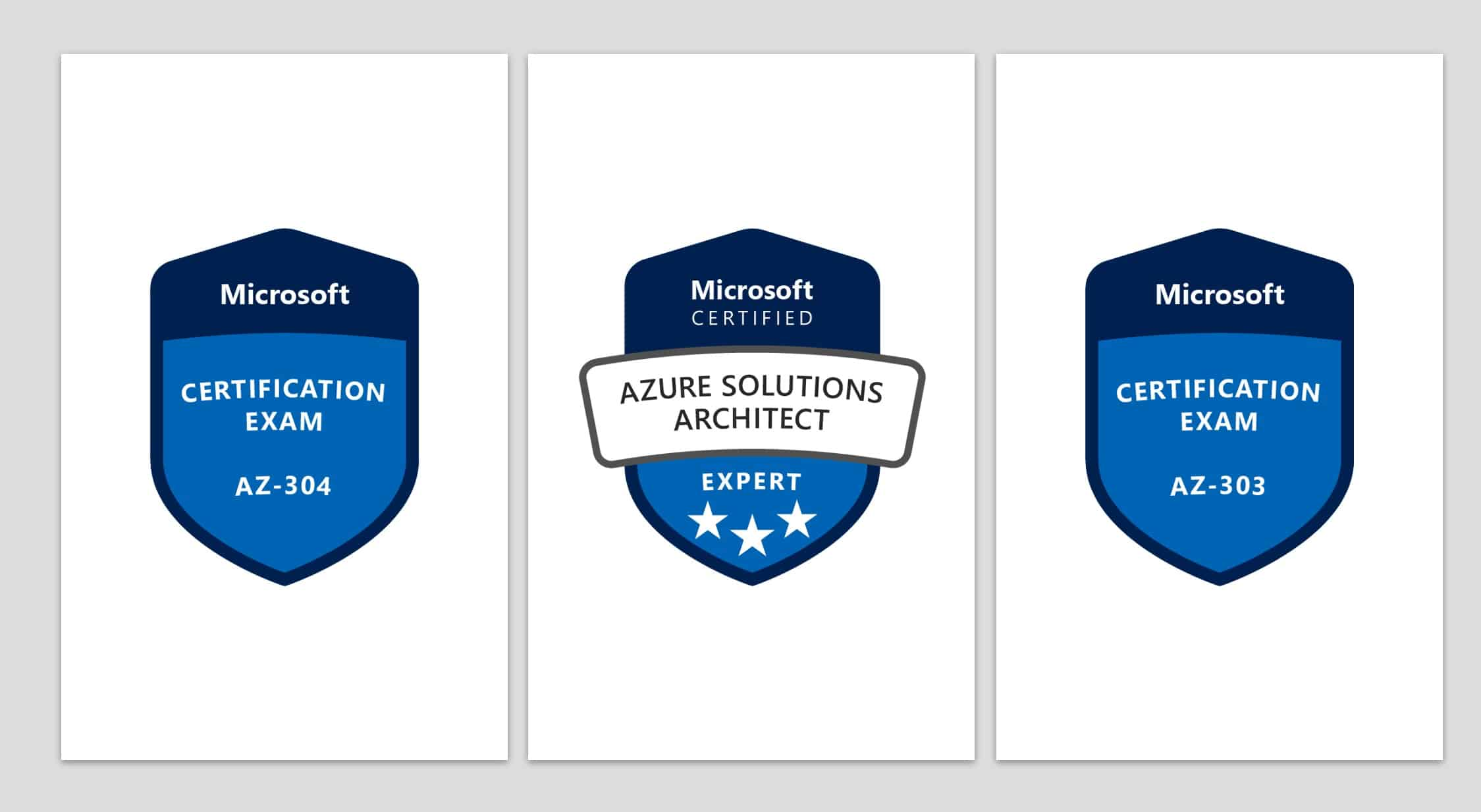 Passed AZ-303 and AZ-304 Microsoft Certified Azure Solutions Architect