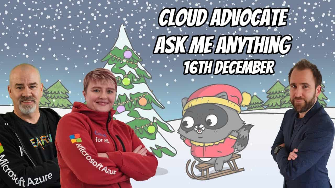 Cloud Advocate AMA Thomas Maurer