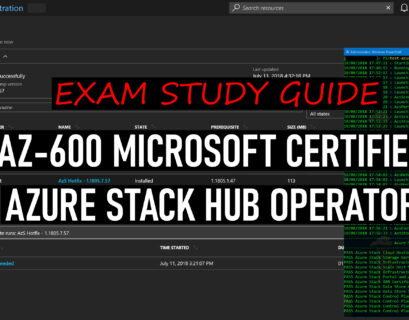 AZ-600 Exam Study Guide Microsoft Certified Azure Stack Hub Operator