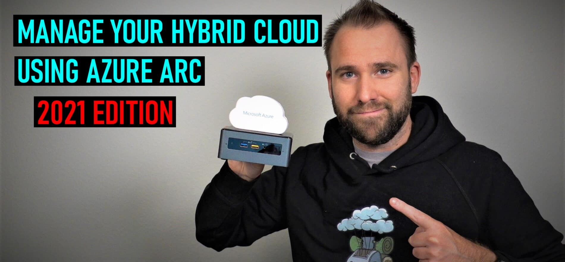 Manage hybrid cloud using Azure Arc