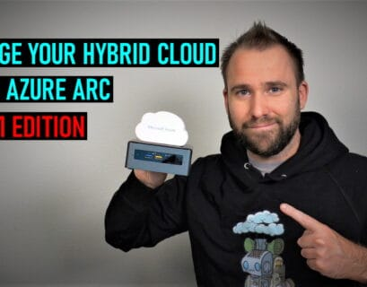 Manage hybrid cloud using Azure Arc