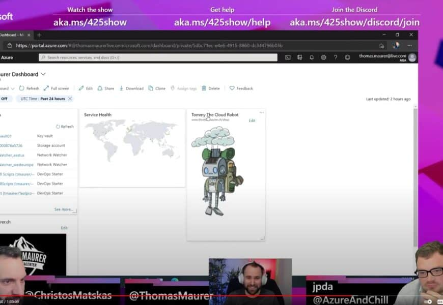 425Show Secure Hybrid Cloud with Azure Arc with Thomas Mauer
