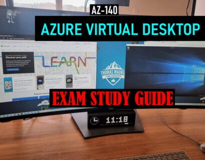 AZ-140 Exam Study Guide Azure Virtual Desktop WVD