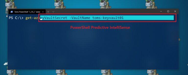 PowerShell Predictive IntelliSense InlineView