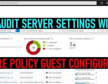 Azure Policy Guest Configuration Compliance