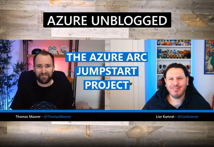 Azure unblogged Azure Arc Jumpstart
