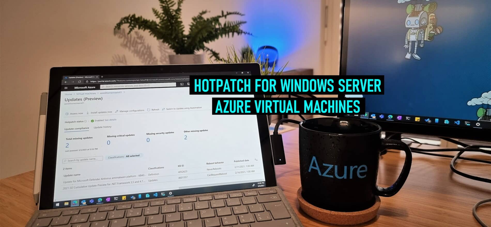 Hotpatch for Windows Server Azure VMs