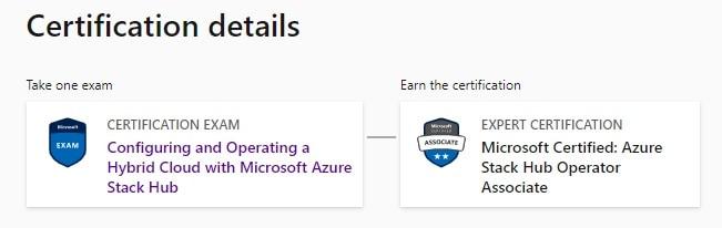 Azure Stack Certification