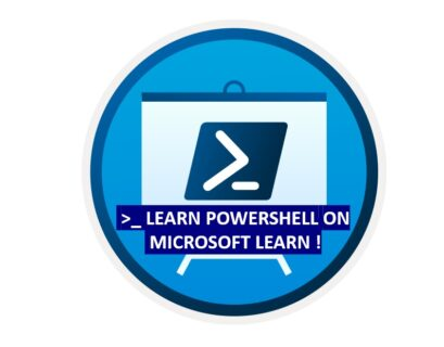 Getting started and Learn PowerShell on Microsoft Learn
