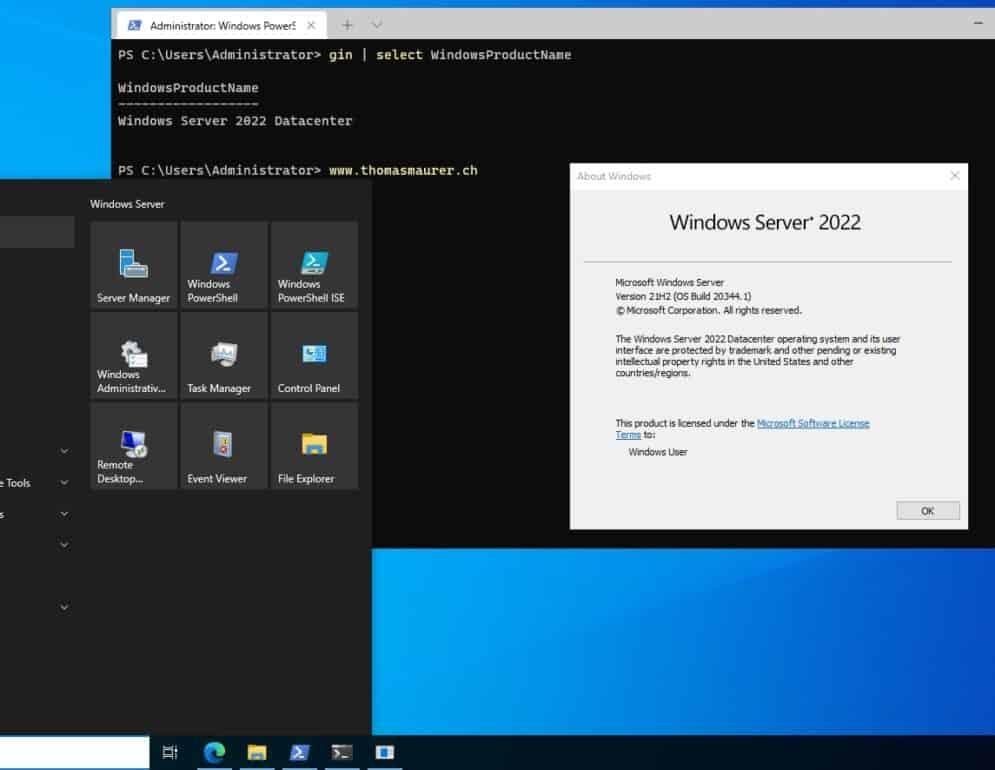 Install Windows Terminal on Windows Server 2022