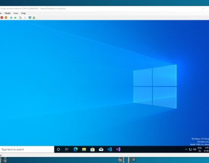 Windows 10 development virtual machine VM
