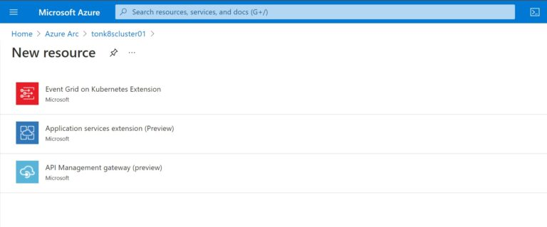 Add Application Services Extension