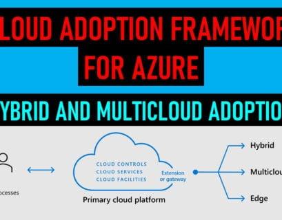 Azure Cloud Adoption Framework for Hybrid and Multicloud