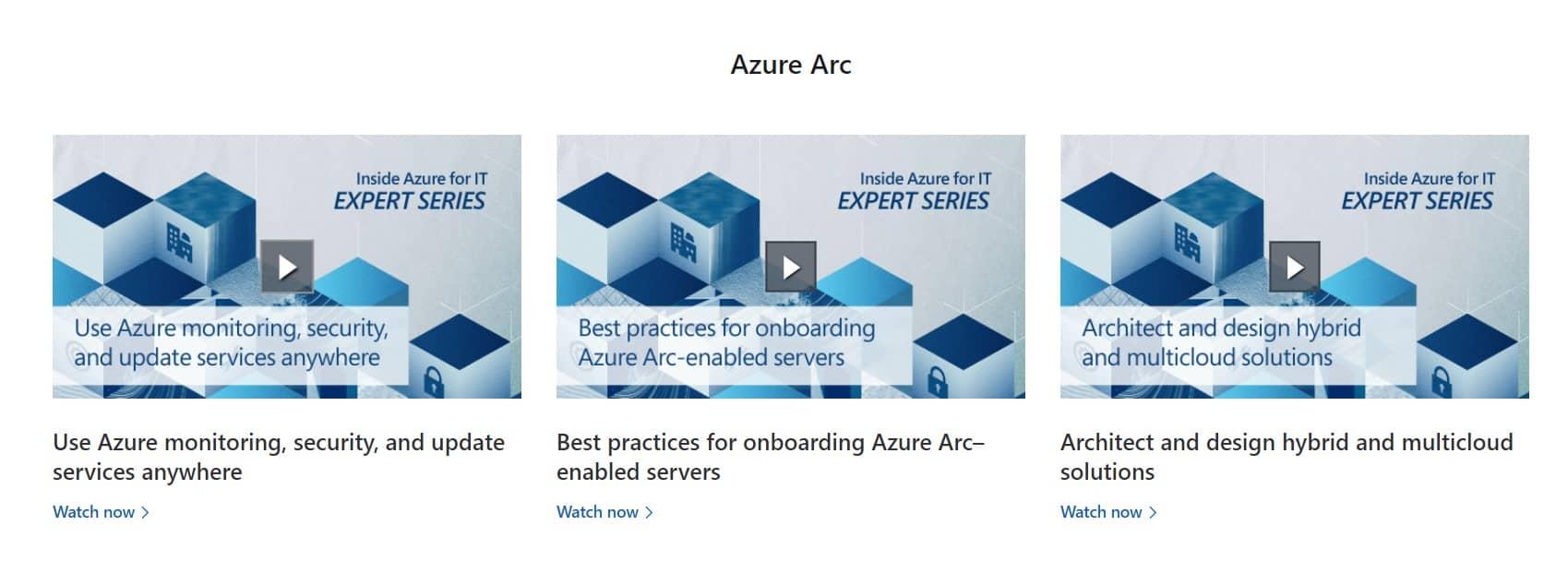 Inside Azure for IT Azure Arc