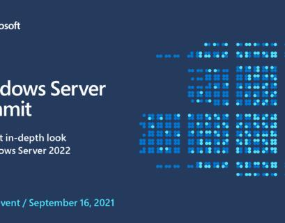 Windows Server Summit - Windows Server 2022