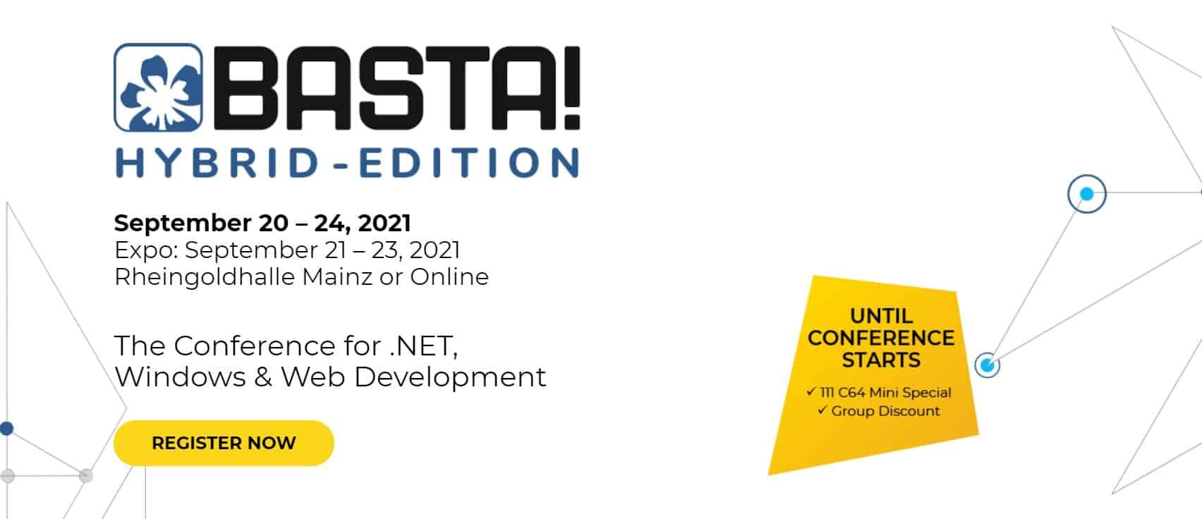 Basta Conference 2021