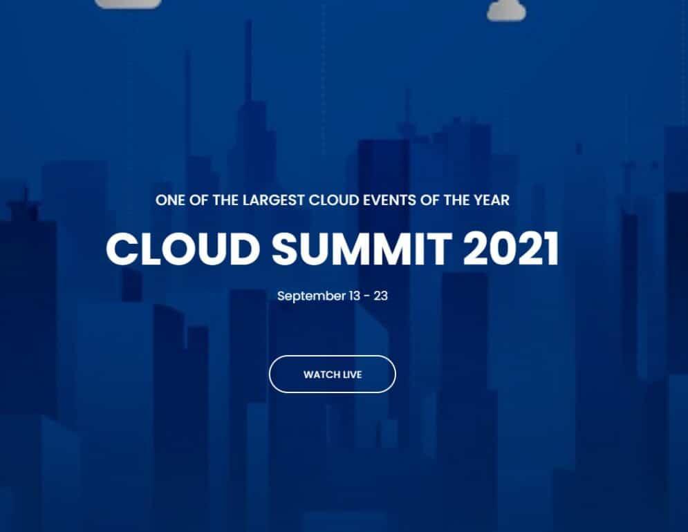 Cloud Summit 2021