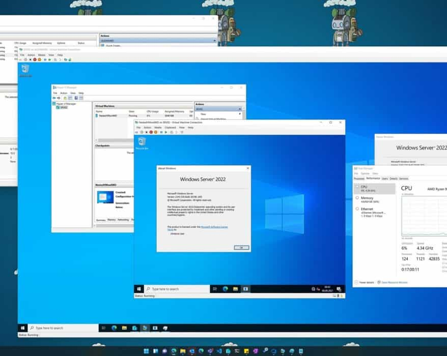 Hyper-V Nested virtualization for AMD processors Windows 11 and Windows Server 2022