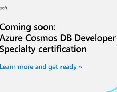 DP-420 Microsoft Azure Cosmos DB Developer Certification Exam Study Guide
